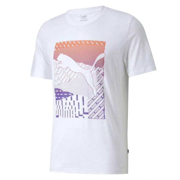 Camiseta Puma Cat Box Masculina 584508