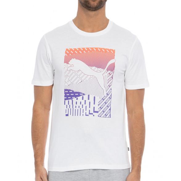 Camiseta Puma Cat Box Masculina 584508