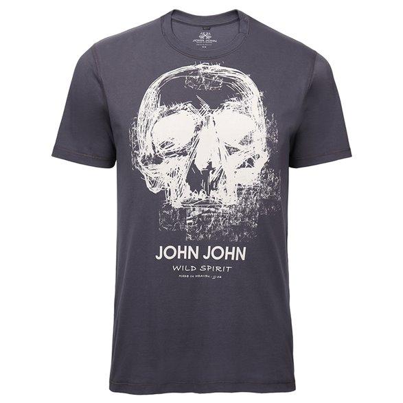 Camiseta John John Rg Sketch Skull Masculina 42.54.4418