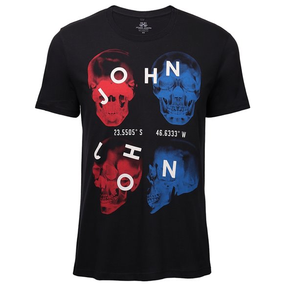 Camiseta John John RG Red And Blue Masculina 42.54.4458