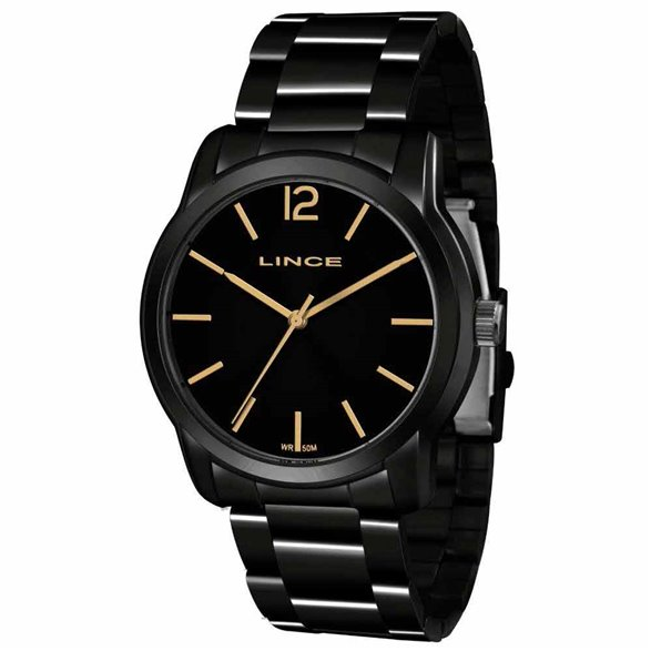 Relógio Lince Feminino Preto Analógico LRN4449L P2PX LRN4449L