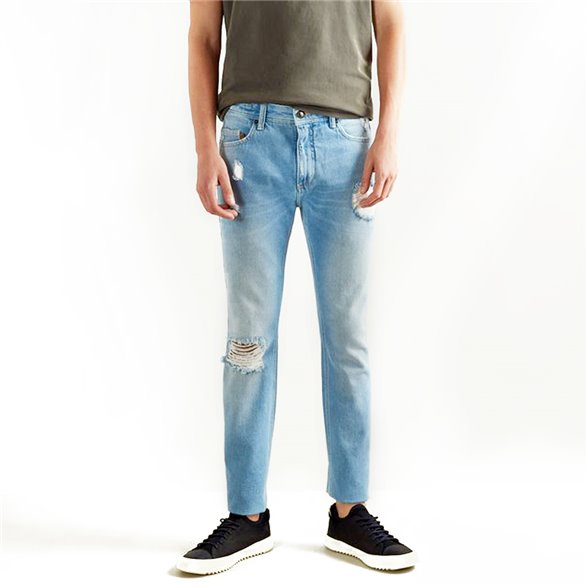 Calça Jeans Reserva +5511 Espelho Masculino 0046795