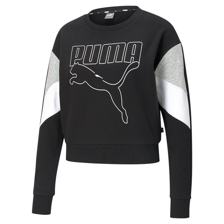 Blusão Puma Rebel Crew TR Feminino 585750