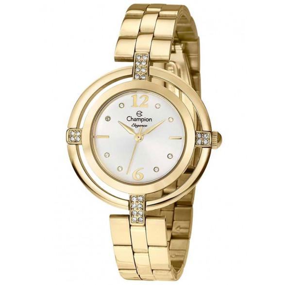 Relógio Champion Elegance Dourado Feminino - CN25421H CN25421