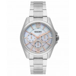 Relógio Feminino Orient Prateado Madrepérola FBSSM032 G2SX