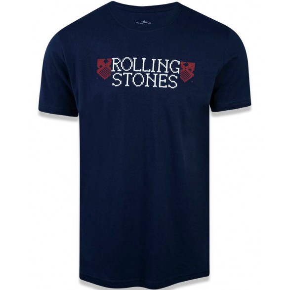 Camiseta New Era The Rolling Stones Masculina NEC19TSH004