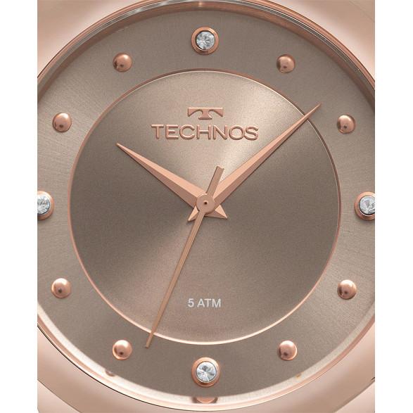 Relógio Technos Feminino Elegance Crystal 2035MQA 2035MQA