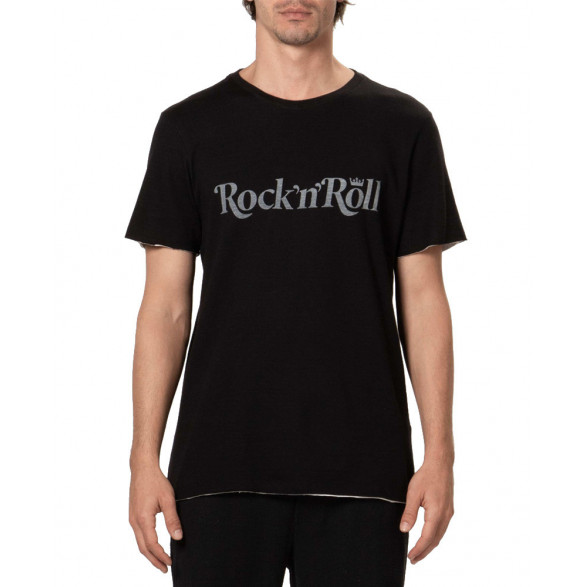 T-Shirt Osklen Double Rock N Roll Rock Series 59123