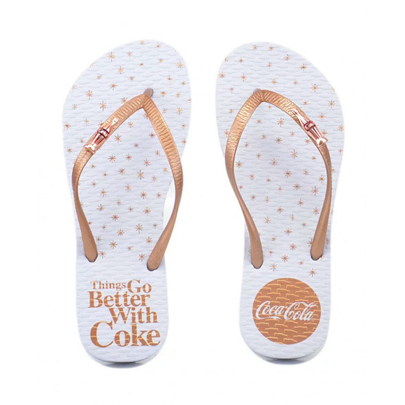 Chinelo Coca-Cola Coke Better Feminino CC2609