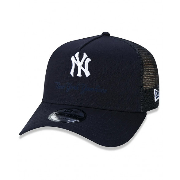 Boné New Era 9forty Trucker MLB New York Yankees Surton MBI20BON060