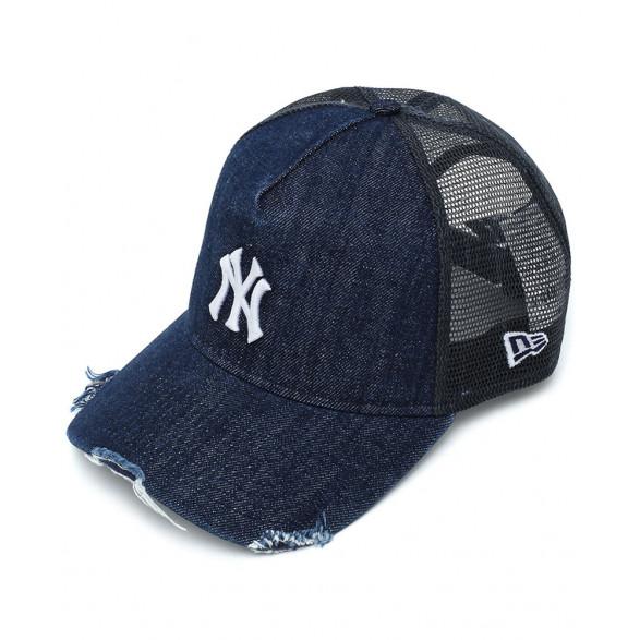 Boné New Era 940 Snapback Denim Logo New York Yankees MBV20BON013
