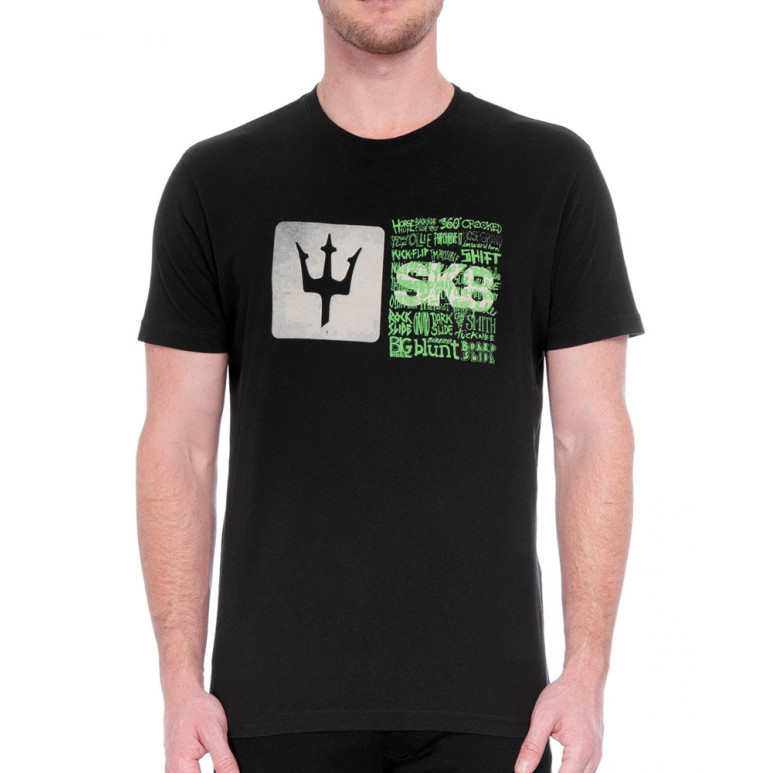 T-Shirt Osklen Rough SK8 Maneuvers Masculina 60933
