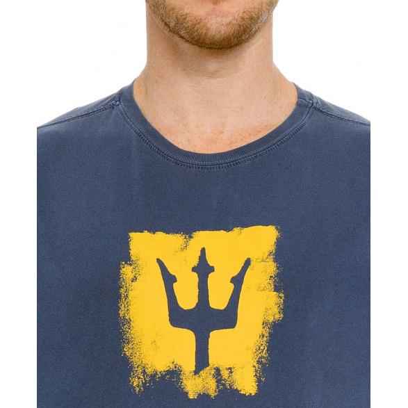 T-Shirt Osklen Stone Tridente Brush Masculina 60942