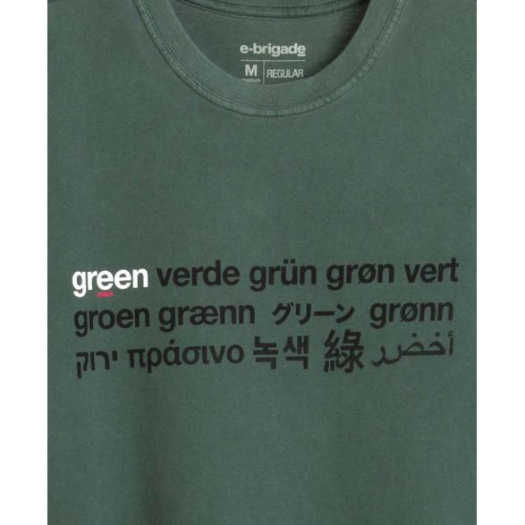 T-Shirt Osklen Stone Verde Masculina 60941