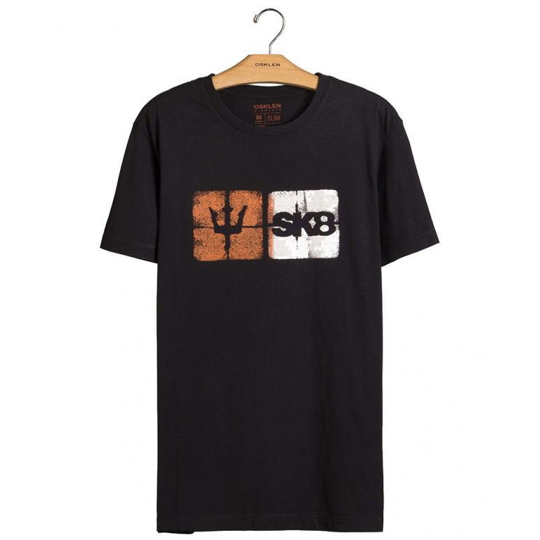 T-Shirt Osklen Vintage Vintage Sk8 Icons Masculina