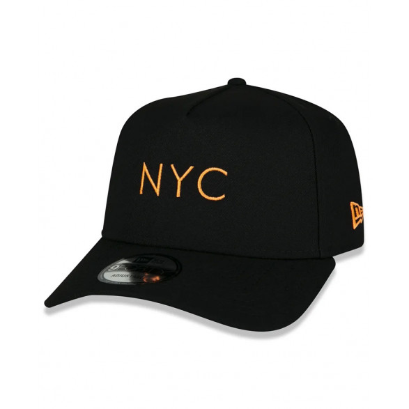 Boné New Era 9Forty A-Frame Simple Signature Fluor NYC NEI20BON156